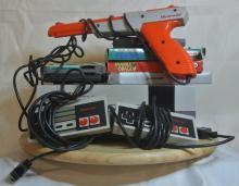 Lot 156: A retro Nintendo 'Nes' console