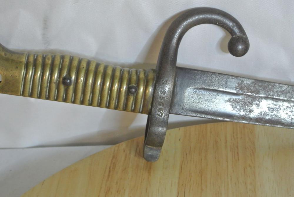 Lot 165: An antique bayonet, full description to follow.