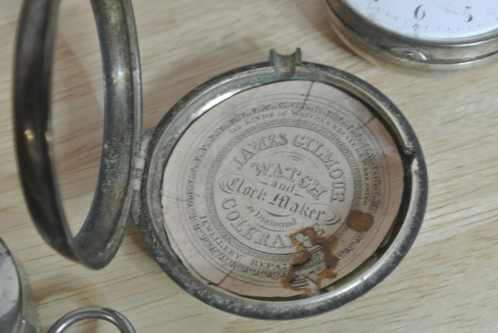 Lot 175: A collection of 3 antique pocket watches