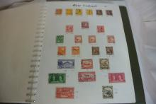 Lot 199: A stamp album containing various stamps