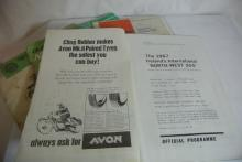 Lot 200: A collection of 7 North West 200 motorcycle race programmes