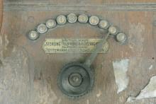 Lot 103: An antique Sterling Telephone & Electric Company telephone