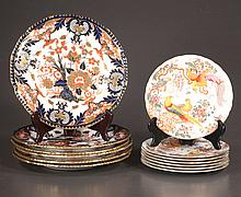 Set of six Royal Crown Derby plates, 10
