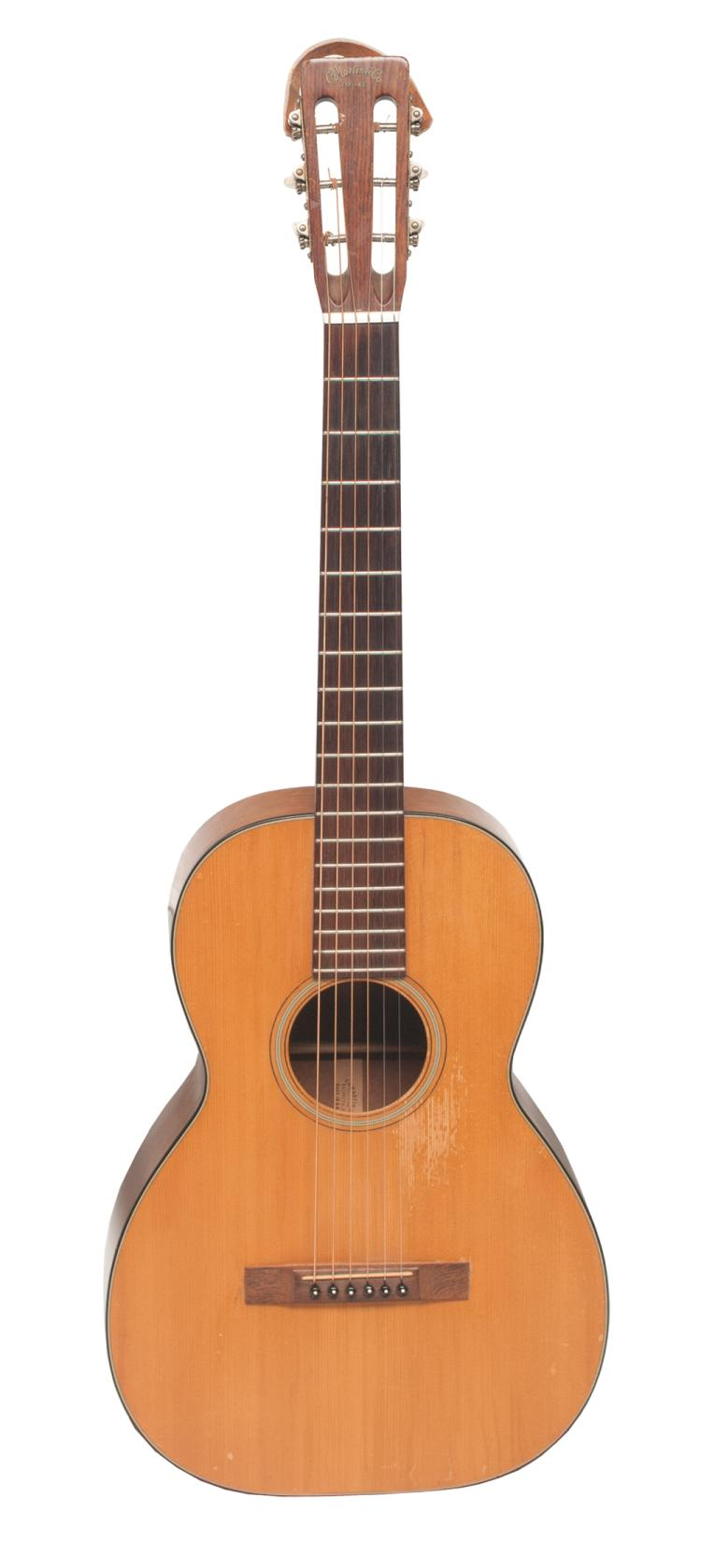 Martin O16NY guitar, serial # 219370, c.1961 in a fitted case, owned and played by Tom T. Hall
