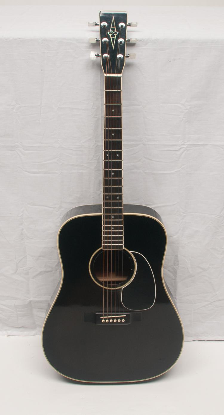 Alvarez Guitar - Live performance/Touring Model no. #5013 Serial #64358, owned and played by Tom T. Hall