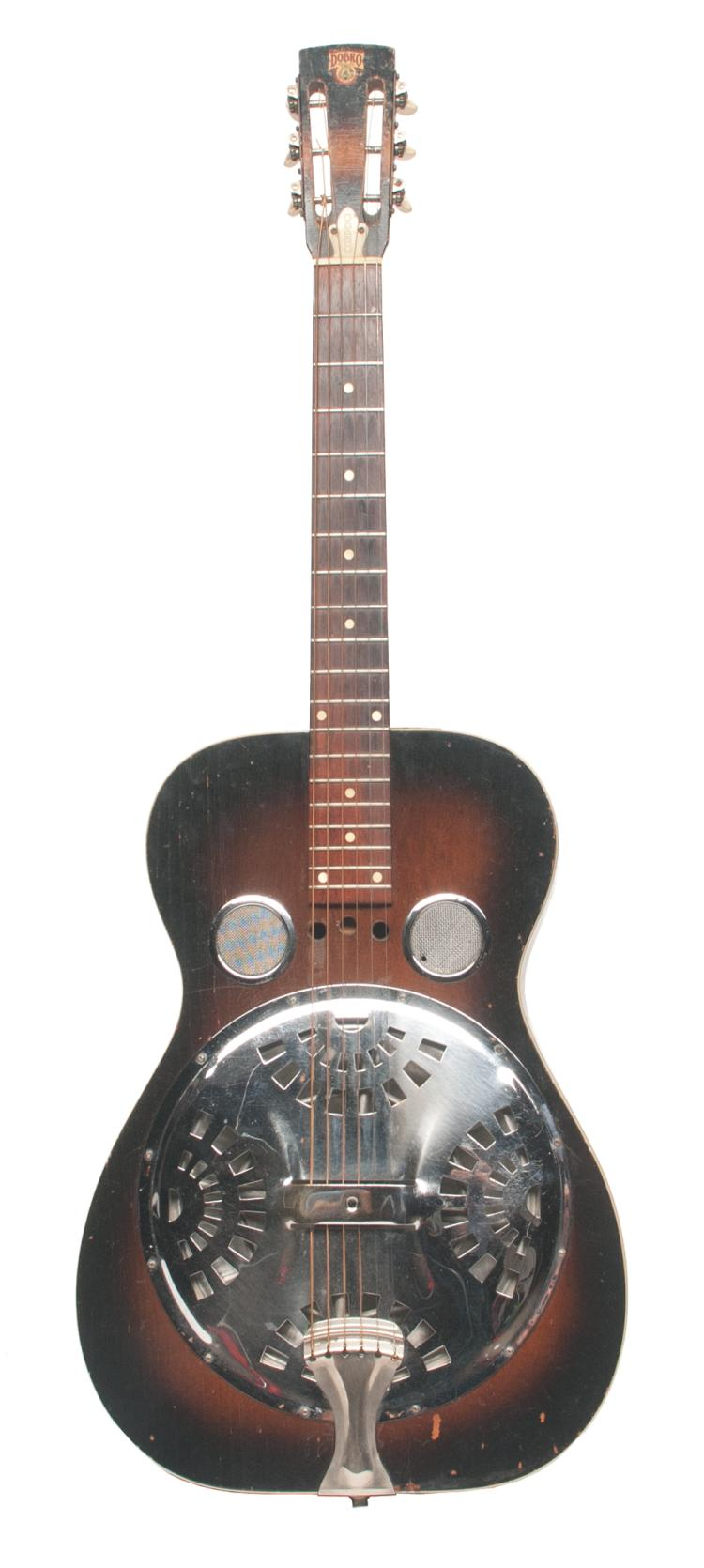 Dobro (Dobro Brand) serial number D 311 4, Live Performance/Touring owned and played by Tom T. Hall, made in 1974