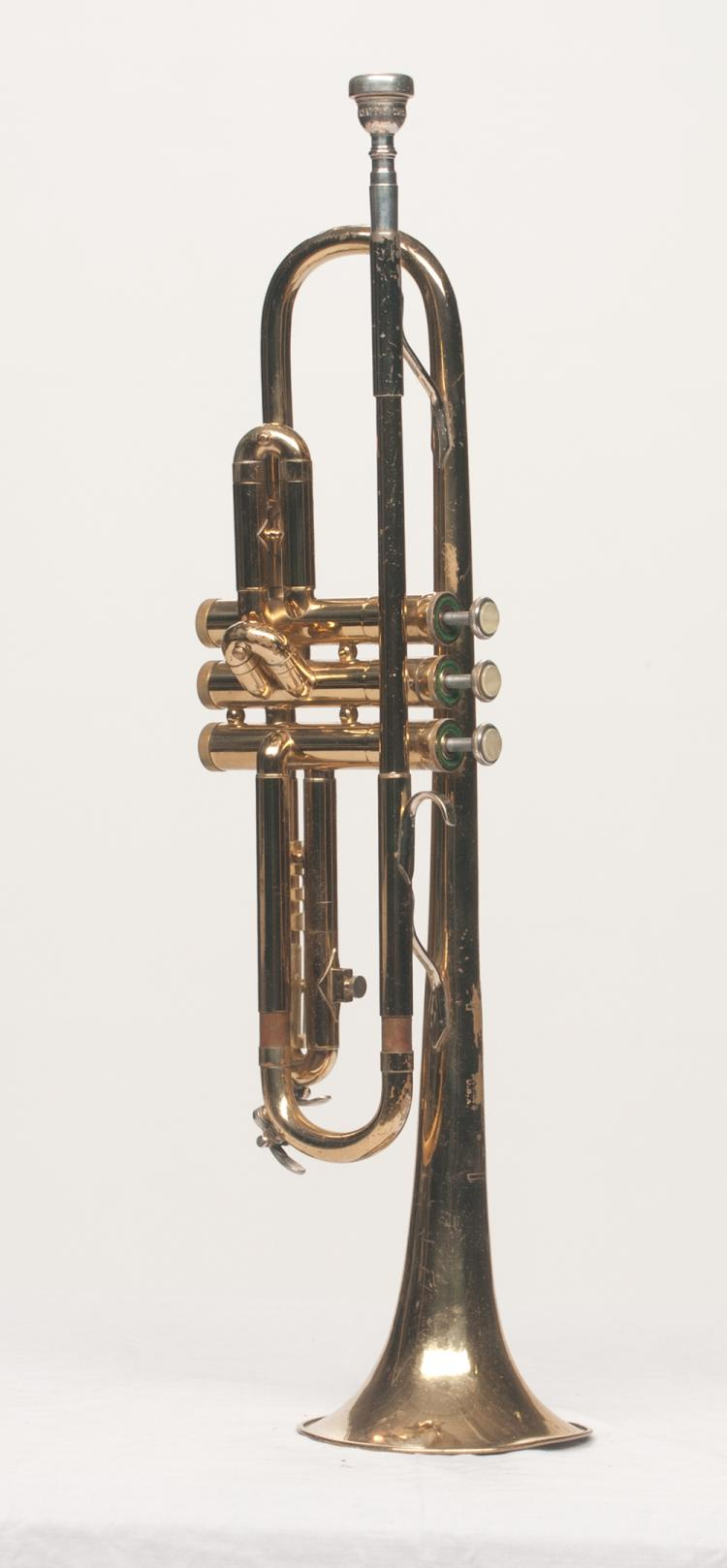 Trumpet (Bach) Live Performance/Touring used in Tom T. Hall's concerts, serial #395401 ML, in a fitted case
