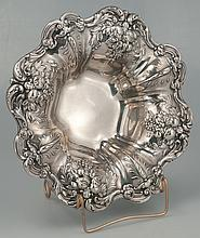 Reed and Barton sterling silver bowl in the Francis I pattern, c.1920, 12