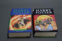TWO HARRY POTTER FIRST EDITIONS, The Half Blood Prince & The Deathly Hallows