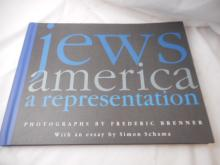 Jews America a representation - 1994 - by Simon Schama - hard back
