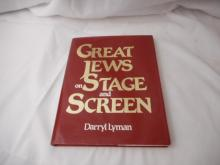 Great Jews on Stage and Screen by Darryl Lyman - 1994 - hard back