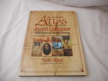 The Illustrated Atlas of Jewish Civilization - 1990 - 4000 years of Jewish History - hard back