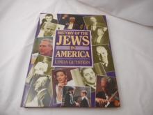 History of the Jews in America - 1988 - Linda Gutstein - hard back