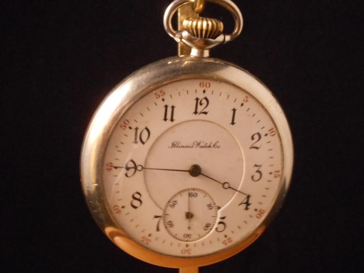 Illinois pocket watch serial number hookup