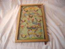 1930's Vintage Happy Times 5 in 1 Game Table Pinball Very Rare sold Sears & Roebuck
