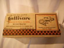 Sullivan Hi-Tork Starter For model Airplanes New in the box with Papers. Made USA