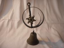 Antique Store Door Spring With The Bell, Wire Hardware Mineral Servants, valued between 150. - 200.