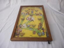 1930's Poosh-m-Up-Jr. Table Top Pin Ball Game, This Toy is Original, Made By Northwestern Products, in Mo. Pat. # 1925018