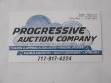All items must be paid in full to the auction house prior to being given to the shipper for shipping.