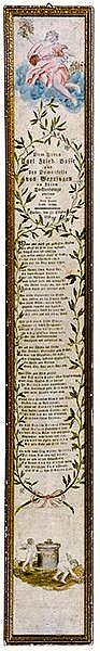 Hochzeits-Gedicht 1796. Dem Herrn Carl Fried. Basse und der Demoiselle von