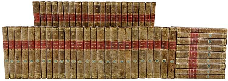 Goethe, Johann Wolfgang von. Werke. Vollständige Ausgabe letzter Hand. Unte