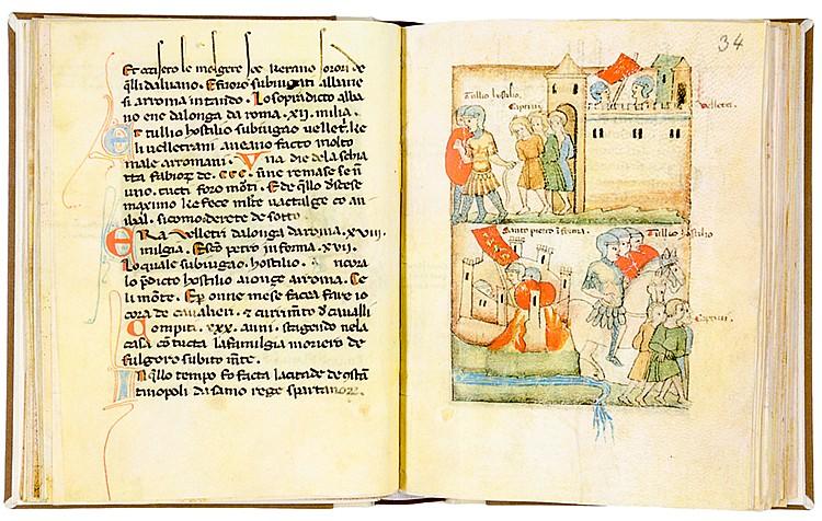 Faksimile - - Historiae Romanorum. Faksimile der Handschrift Codex 151 in S