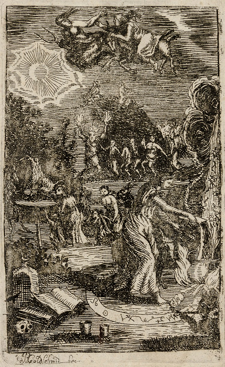 Occulta - - Goldschmidt, Petrus. Verworffener Hexen- und Zauberer-Advocat.