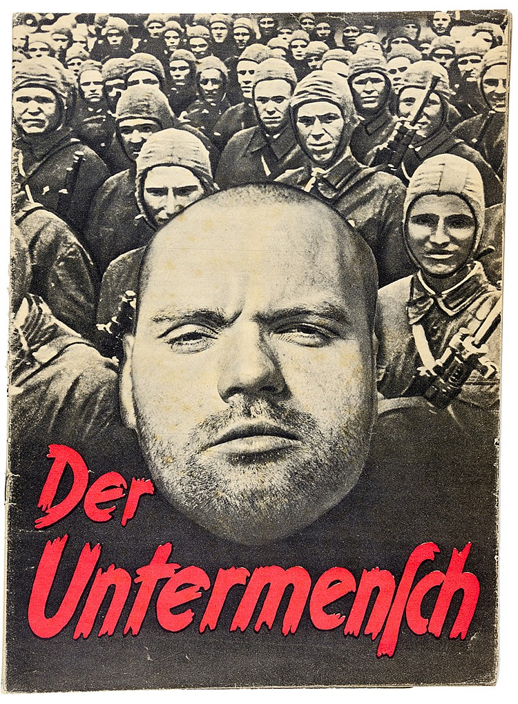 Judaica - Antisemitismus - - Der Untermensch. Herausgeber: SS-Hauptamt - Sc
