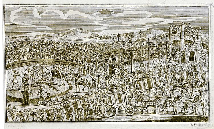 Diebe und Mörder - - Weissenbruch, Johann Benjamin. Ausführliche Relation v