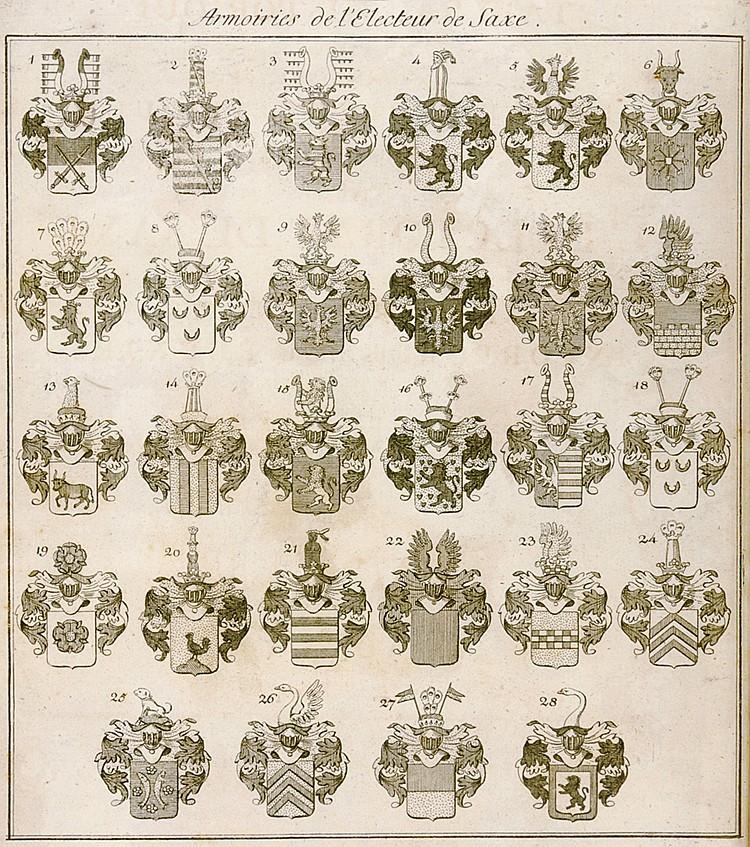 Deutschland - Sachsen - - Canzler, J. G. Tableau historique pour servir à l