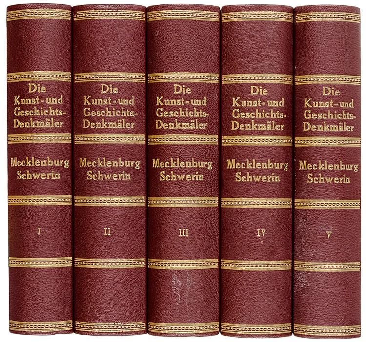 Deutschland - Mecklenburg-Vorpommern - - Schlie, Friedrich. Die Kunst- und