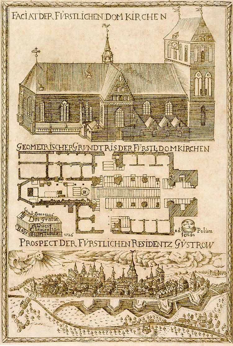 Deutschland - Mecklenburg - - Thiel, Gustav. Der Hoch-Fürstl. Dom zu St. Co