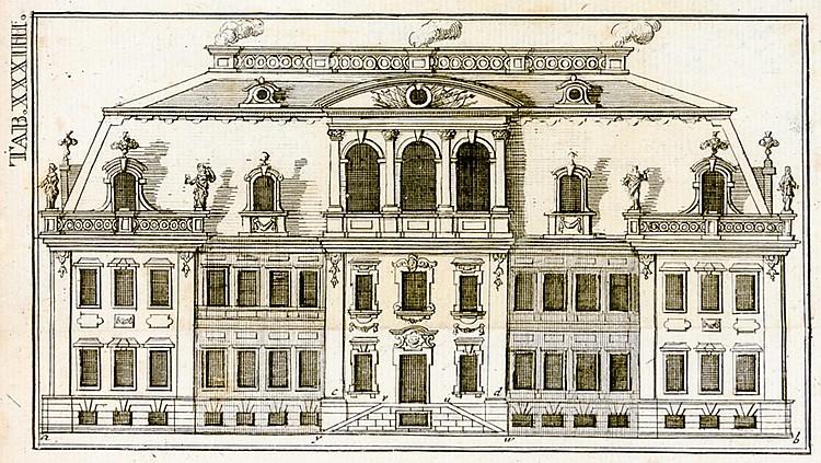 Architektur - - Hederich, Benjamin M. Progymnasmata Architectonica oder Vor
