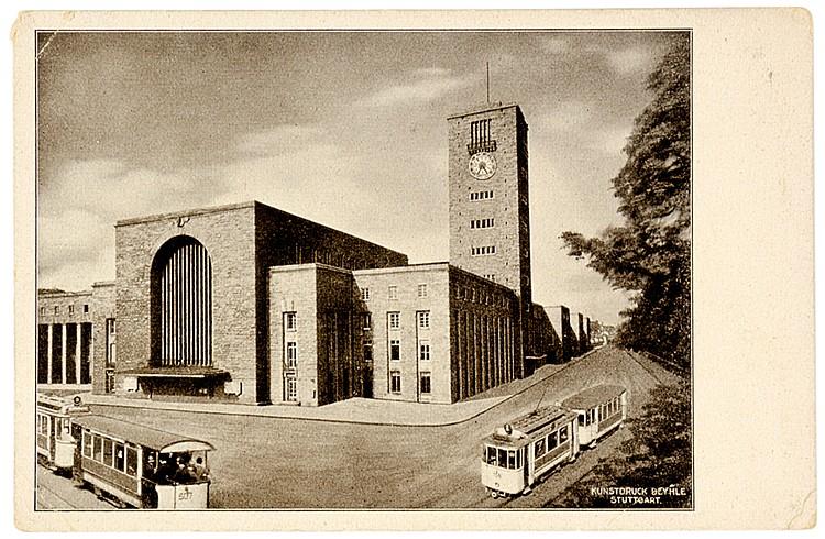 Technik - Straßenbahn - - Album mit ca. 550 teils farbigen Postkarten zum T