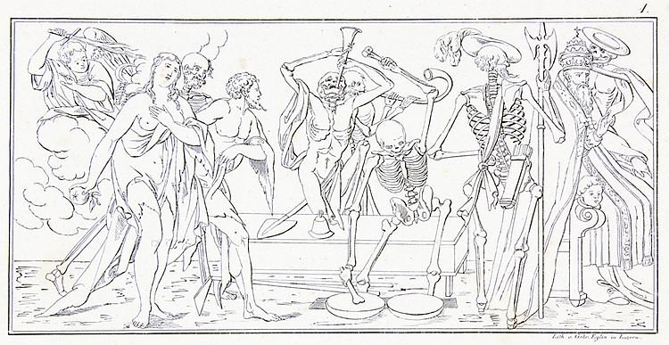 Totentanz - - Wyl, J. von. Todtentanz oder Spiegel menschlicher Hinfälligke