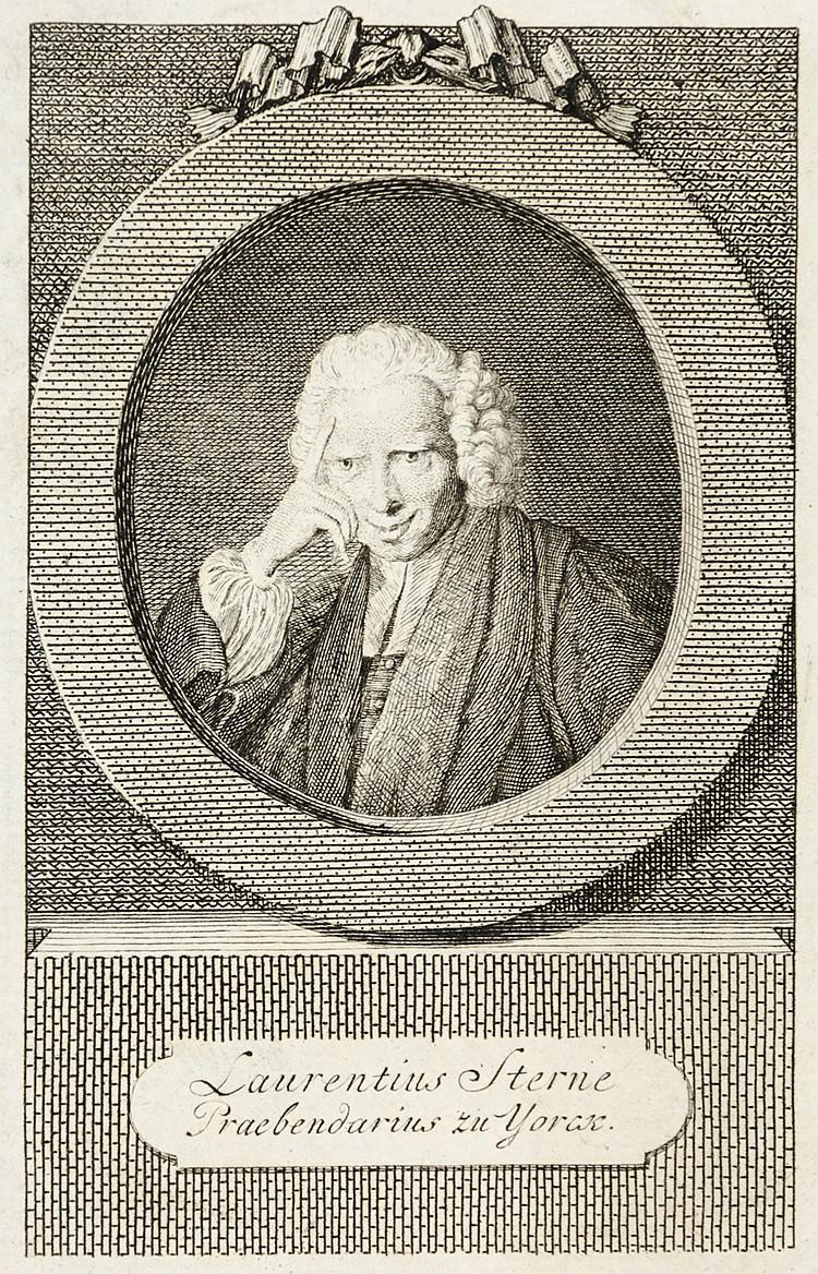 Sterne, Laurence. Yoricks empfindsame Reise durch Frankreich und Italien. A