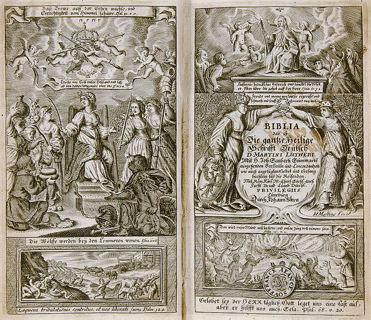 Biblia germanica - - Biblia, Das ist, die gantze Heilige Schrift, Altes und