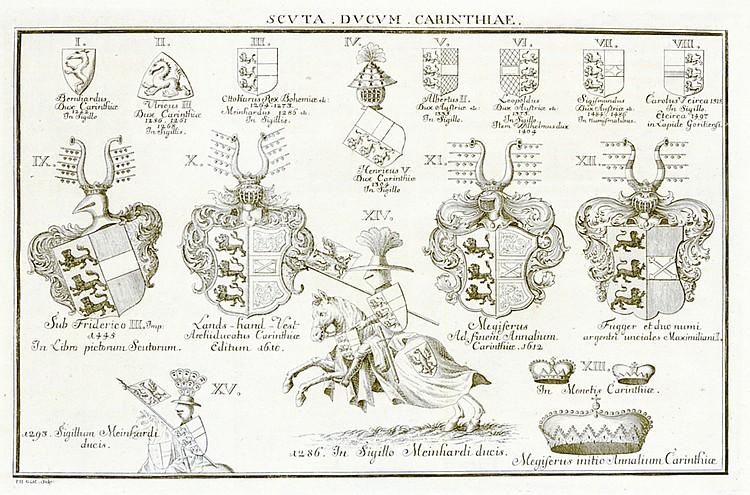 Österreich - - Frölich, Erasmus. Specimen archontologiae Carinthiae. 2 Teil
