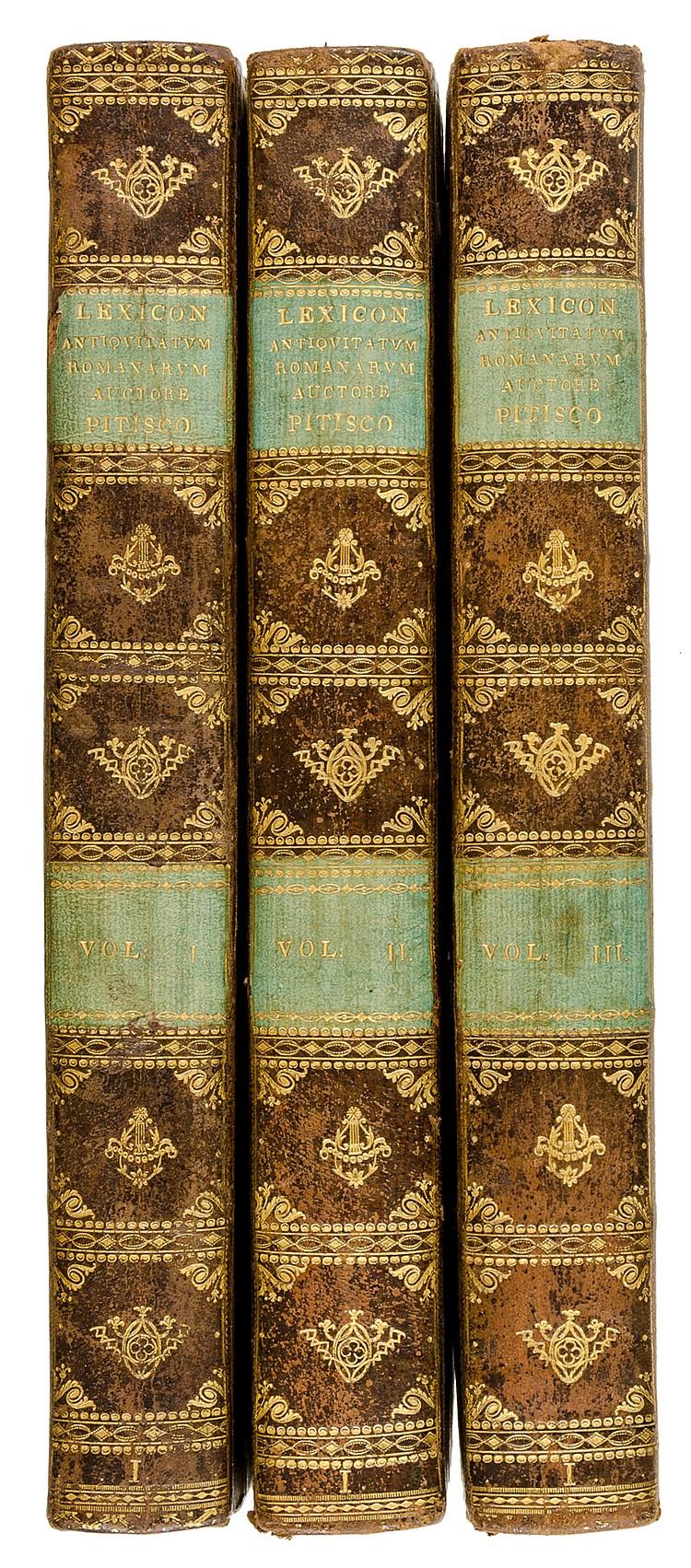 Pitiscus, Samuel. Lexicon antiquitatum Romanarum, in quo ritus et antiquita