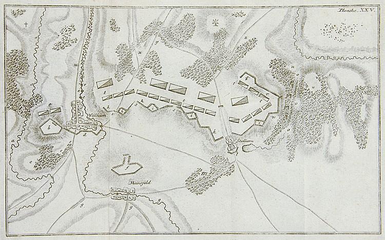 Militaria - - Gaudi, Friedrich Wilhelm von. Versuch einer Anweisung für Off