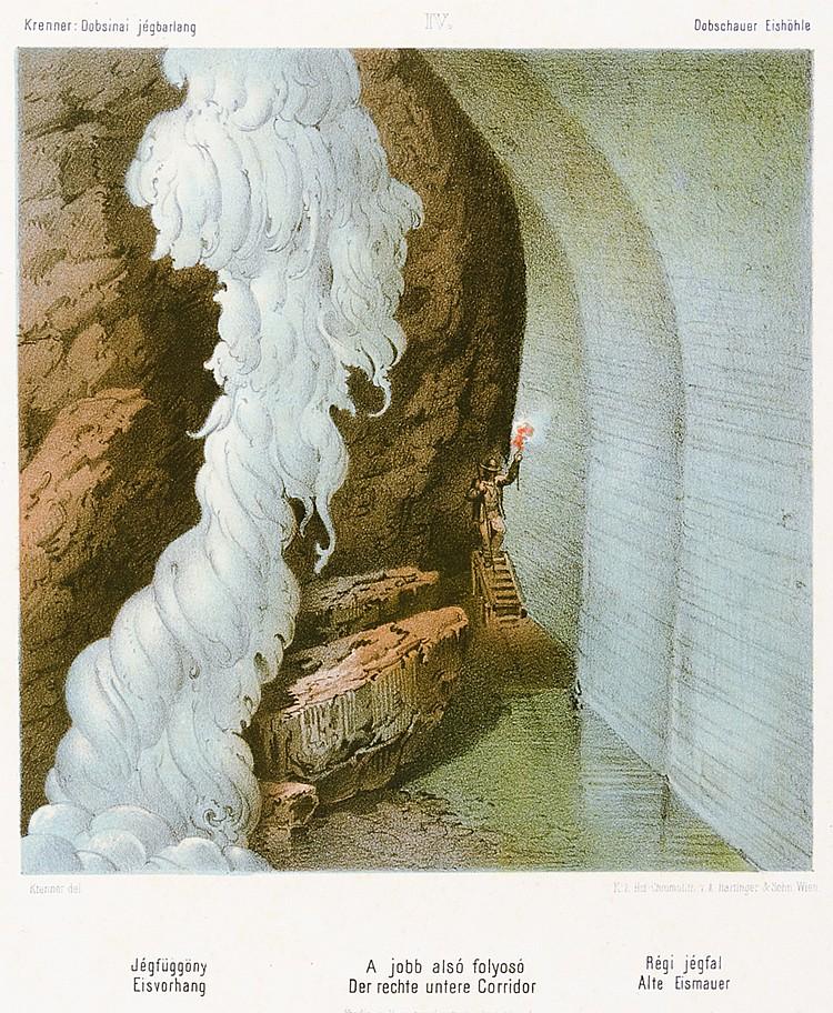 Europa - Slowakei - - Krenner, József Sándor.. A Dobsinai Jégbarlang - Die