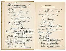Nationalsozialismus - - Sammlung von ca. 35 eigenhändigen Signaturen von NS
