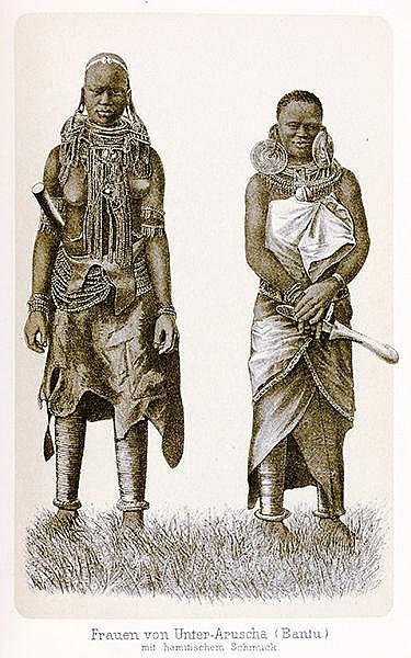 Afrika - Ostafrika - - Schoeller, Max. Mitteilungen über meine Reise nach Ä