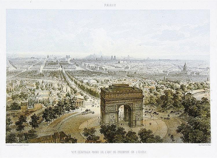 Europa - Frankreich - - Arnout, Jules. Paris, vues et monuments. Dessinés e