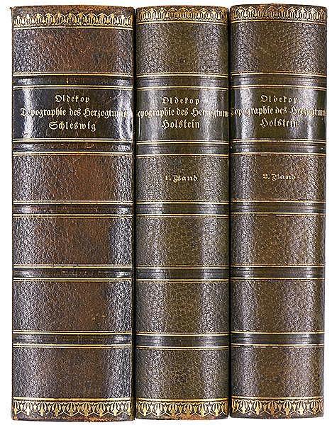 Deutschland - Schleswig-Holstein - - Oldekop, Henning. Topographie des Herz