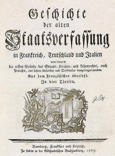 Staatswissenschaft - - Buat-Nancay, Louis-Gabriel Du. Geschichte der alten