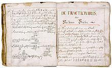 Knigge, Johann Georg. Rechen-Buch anno domini MDVVLXX. Deutsche Handschrift