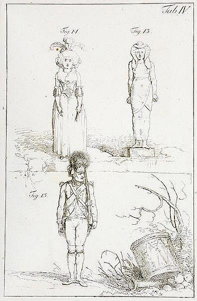 Racknitz, Joseph Friedrich zu. Briefe über die Kunst an eine Freundinn. Mit
