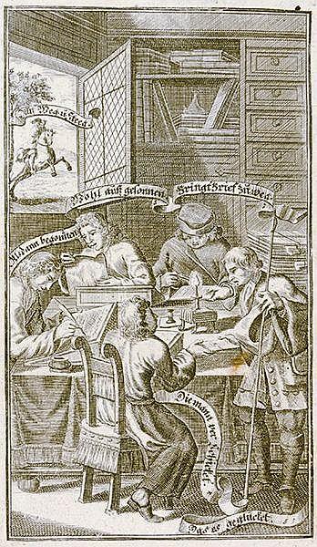 Schreibmeisterbücher - - Der wohl-erfahrne in allerhand ungemein-curieusen