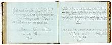 Gebhard, Maria Sophia. Schreibbuch von Maria Sophia Gebhardin 1808-1810. De
